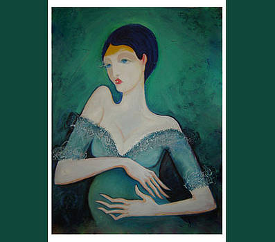 Muse of artist by Art Hrasarkos