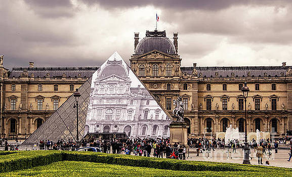 Musee du Louvre by Marina McLain