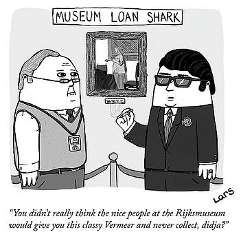 Museum Loan Shark by Lars Kenseth