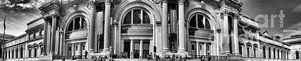 Chuck Kuhn - Museum of Art NY BW Panorama