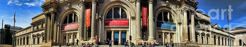 Chuck Kuhn - Museum of Arts  NYC Panorama