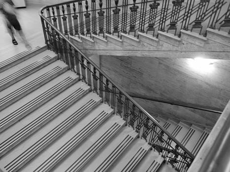Museum Steps by Jennifer Whiteford