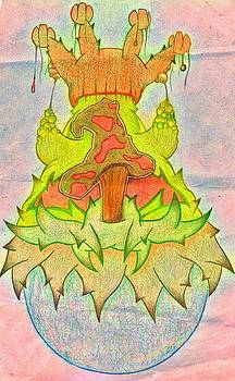 Mushroom Shrine by Landon Clary