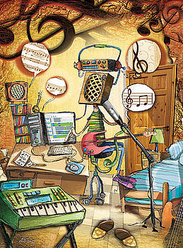 Music House-band by Juan  Amadeo