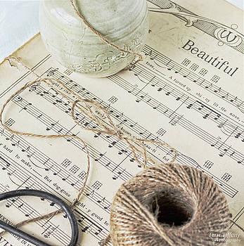 Music in Neutrals by Terri Tiffany