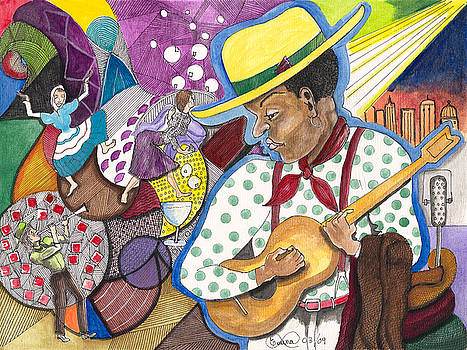 Music man 9 by Everna Taylor