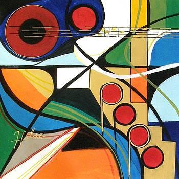 Musical abstract by Gina Hulse