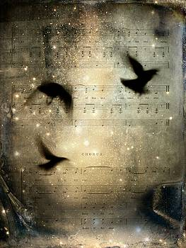 Musical Crows by Gothicrow Images