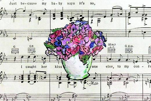 Musical Flora by Tracey Lee Cassin