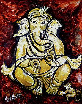 Anand Swaroop Manchiraju - MUSICAL GANESHA