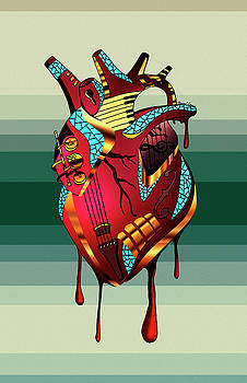 Musical Heart  by Kenal Louis