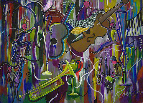 Musical Instruments 2 by Everna Taylor