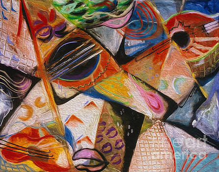Musical Pastels by Donna Hall