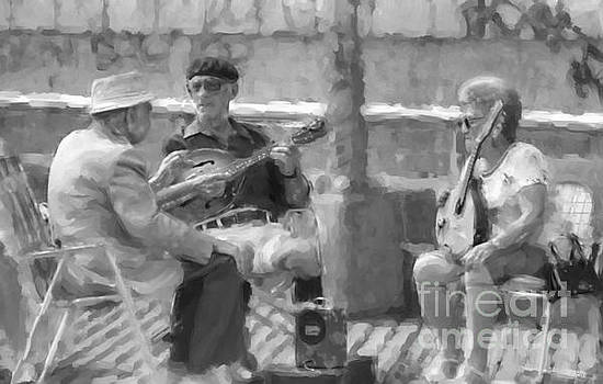 Musicians On The Boardwalk by Jeff Breiman