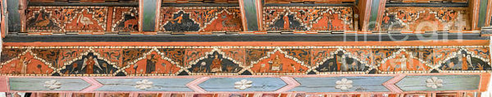 RicardMN Photography - Musicians painted on a medieval ceiling