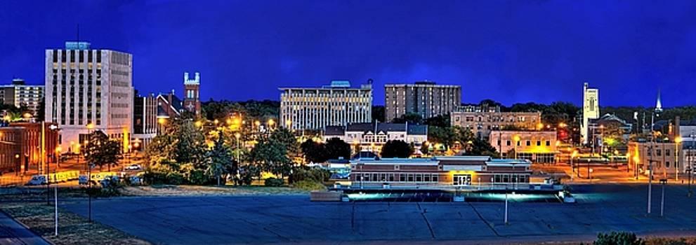 Jeff S PhotoArt - Muskegon Downtown Panorama