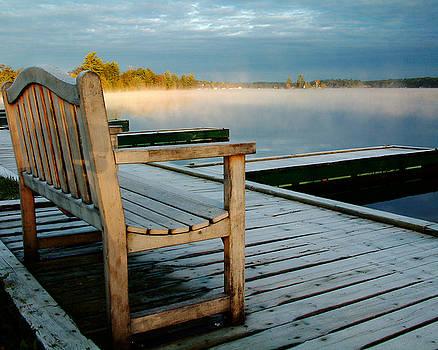 Linda McRae - Muskoka Lake at Sunrise
