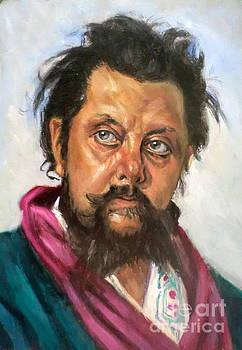 Mussorgsky after Ilja Repin by Hidemi Tada