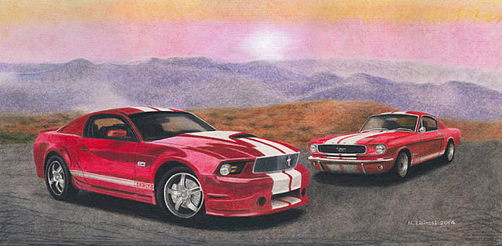 Mustang Country by Norb Lisinski