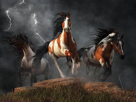 Mustangs of the Storm by Daniel Eskridge