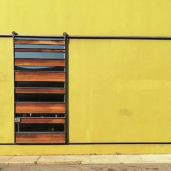 Mustard Wall by Julie Gebhardt
