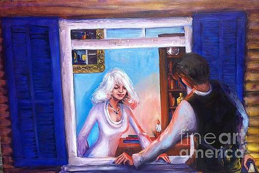 Intimate Conversation by Beverly Boulet