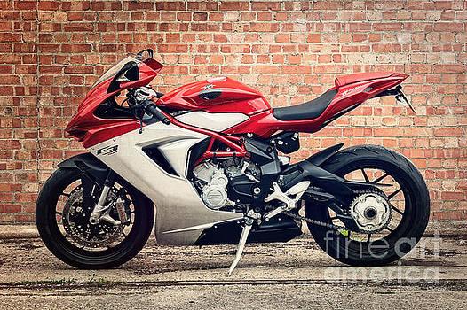 MV Agusta F3 by Carl Shellis