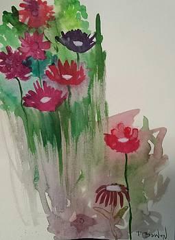 My Abstract Flowers by Deborah Bowen