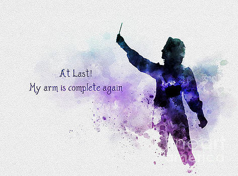 My arm is complete again by Rebecca Jenkins