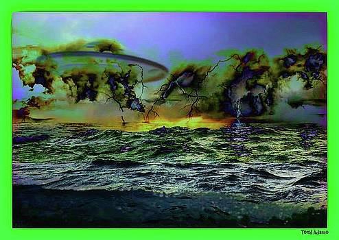My Art Works R not Photoshopped/UFO Waters by Tony Adamo
