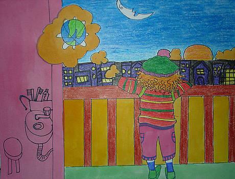 My Balcony by Aditi Laddha