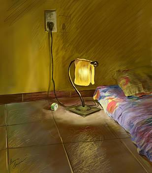 My Bedroom by Misha Lapitskiy