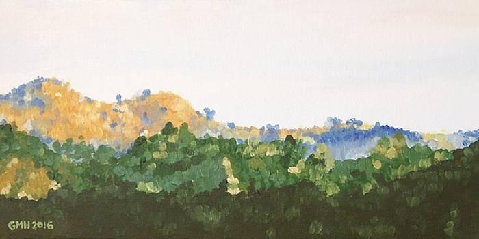 My Beloved Hills by Glenn Harden