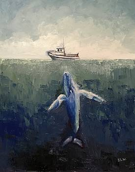 My Blue Whale by Justin Lee Williams