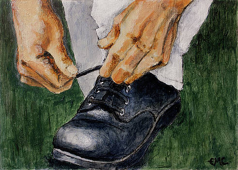 My Brother's Hands and Shoe by Edward Corpus