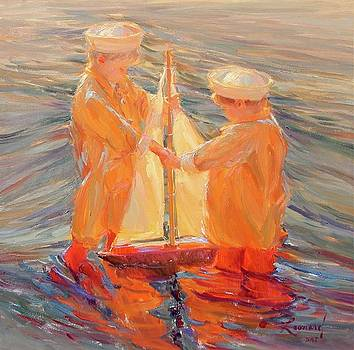 My Brothers Sailboat by Diane Leonard