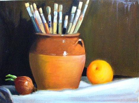 My Brushes by George Siaba