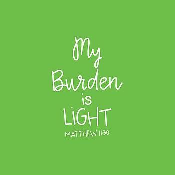 My Burden by Nancy Ingersoll
