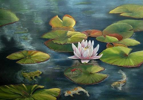 My Busy Lilly Pond by Ceci Watson