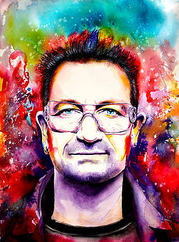 My colors for Bono by Isabel Salvador
