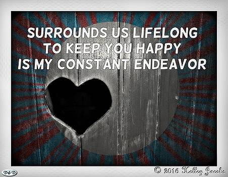 My Constant Endeavor by Holley Jacobs