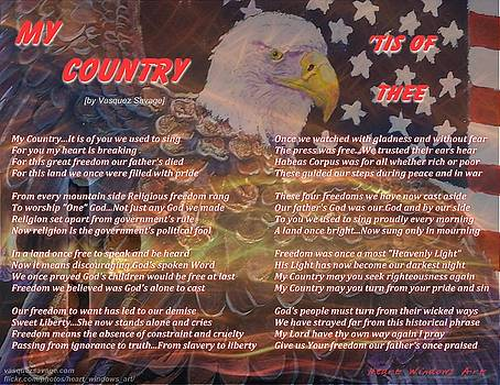 My Country Tis of Thee by Kathleen Luther
