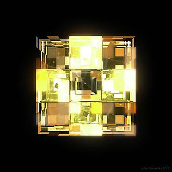 My Cubed Mind - Frame 001 by Jules Gompertz