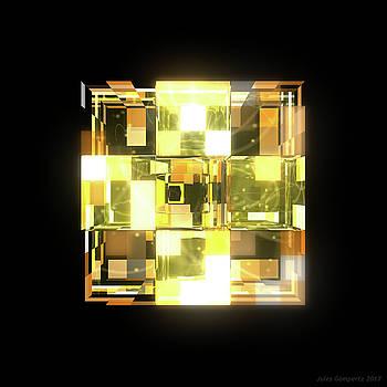 My Cubed Mind - Frame 019 by Jules Gompertz