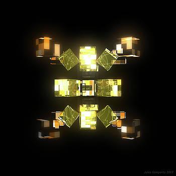 My Cubed Mind - Frame 085 by Jules Gompertz
