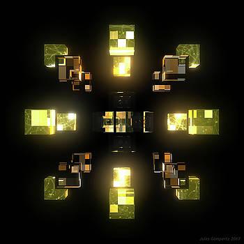 My Cubed Mind - Frame 100 by Jules Gompertz