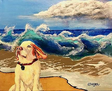 My Dog and the Sea #1 - Beagle by Esperanza J Creeger