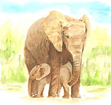 My Elephants by Lisa Buchanan
