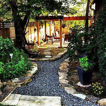 My Families Secrete Garden Behind The by Ashley Miller