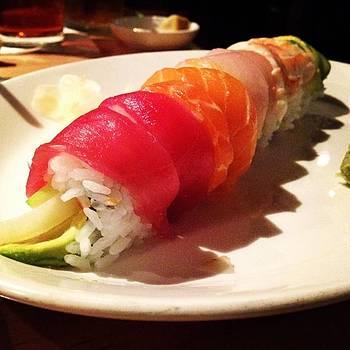 My Fave 🌈🍣😋 #sushizushi by Elizabeth Dominguez